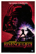 "Movie Posters:Science Fiction, Revenge of the Jedi (20th Century Fox, 1982). One Sheet (27"" X 41"")Undated Style.. ..."