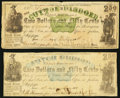 Obsoletes By State:Mississippi, Jackson, MS- State of Mississippi $2.50(2) May 1, 1862 Cr. 20; Cr. 24. ... (Total: 2 notes)