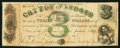 Obsoletes By State:Mississippi, Jackson, MS- State of Mississippi $3 May 1, 1862 Cr. 19. ...