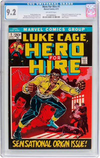 Hero for Hire #1 (Marvel, 1972) CGC NM- 9.2 Off-white pages