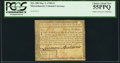 Colonial Notes:Massachusetts, Massachusetts May 5, 1780 $3 PCGS Choice About New 55PPQ.. ...