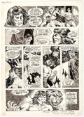 Original Comic Art:Panel Pages, Rick Hoberg, Marie Severin, and Bill Wray The Savage Sword ofConan #23 Story Page 6 Original Art (Marvel Comics, ...