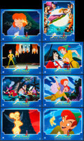 """Movie Posters:Animation, Return to Neverland (Buena Vista, 2002). French Color Photo Set of 8 (11"""" X 14""""). Animation.. ... (Total: 8 Items)"""