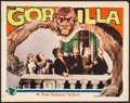 "Movie Posters:Mystery, The Gorilla (First National, 1930). Lobby Card (11"" X 14"").Mystery.. ..."
