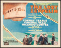 "Movie Posters:Adventure, The Lost Zeppelin (Tiffany, 1929). Title Lobby Card (11"" X 14""). Adventure.. ..."