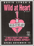 "Movie Posters:Crime, Wild at Heart (Samuel Goldwyn, 1990). Australian One Sheet (29.75"" X 40"") Advance. Crime.. ..."