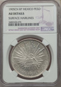 Mexico, Mexico: Republic Peso 1905 CN-RP AU Details (Surface Hairlines) NGC,...
