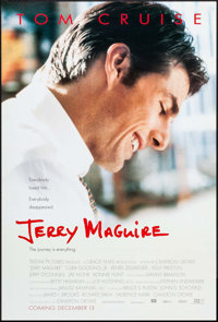 "Jerry Maguire & Other Lot (Tri-Star, 1996). One Sheets (2) (27"" X 41"") DS Advance. Drama. ... (Total:..."