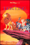 """Movie Posters:Animation, The Lion King (Buena Vista, 1994). One Sheet (27"""" X 40"""") SS Advance. Animation.. ..."""