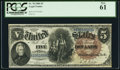 Large Size:Legal Tender Notes, Fr. 78 $5 1880 Legal Tender PCGS New 61.. ...