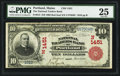 National Bank Notes:Maine, Portland, ME - $10 1902 Red Seal Fr. 613 The National Traders Bank Ch. # (N)1451. ...