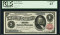 Large Size:Silver Certificates, Fr. 266 $5 1891 Silver Certificate PCGS Extremely Fine 45.. ...