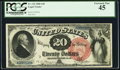 Large Size:Legal Tender Notes, Fr. 133 $20 1880 Legal Tender PCGS Extremely Fine 45.. ...