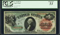 Large Size:Legal Tender Notes, Fr. 18 $1 1869 Legal Tender PCGS About New 53.. ...