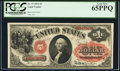 Large Size:Legal Tender Notes, Fr. 19 $1 1874 Legal Tender PCGS Gem New 65PPQ....