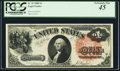 Large Size:Legal Tender Notes, Fr. 31 $1 1880 Legal Tender PCGS Extremely Fine 45.