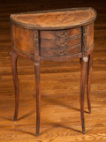 Furniture : French, A Louis XV-Style Petit Commode, 20th century. 28-1/2 h x 19 w x 9 dinches (72.4 x 48.3 x 22.9 cm). ...