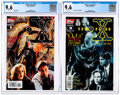 Modern Age (1980-Present):Science Fiction, X-Files Annual #1 and 2 CGC-Graded Group (Topps, 1995-96) CGC NM+9.6.... (Total: 2 Comic Books)