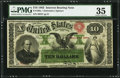 Fr. 196a $10 1863 Interest Bearing Note PMG Choice Very Fine 35