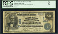 National Bank Notes:Pennsylvania, Pittsburgh, PA - $50 1902 Date Back Fr. 667 The Farmers Deposit NB Ch. # (E)685. ...