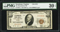 National Bank Notes:Virginia, Strasburg, VA - $10 1929 Ty. 1 The Massanutten NB Ch. # 8753. ...