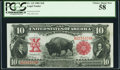 Large Size:Legal Tender Notes, Fr. 115 $10 1901 Legal Tender PCGS Choice About New 58.