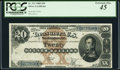 Large Size:Silver Certificates, Fr. 311 $20 1880 Silver Certificate PCGS Extremely Fine 45.. ...