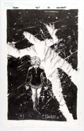 Original Comic Art:Splash Pages, Chris Bachalo Uncanny X-Men #467 Concept Art for Splash Page10 Rachel Grey/Phoenix Original Art (Marvel, 2006)...