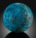 Lapidary Art:Eggs and Spheres, Apatite Sphere. Stone Source: Madagascar. ...