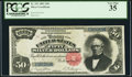 Large Size:Silver Certificates, Fr. 331 $50 1891 Silver Certificate PCGS Very Fine 35.. ...