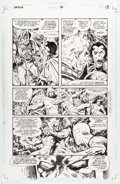 Original Comic Art:Panel Pages, John Byrne Jack Kirby's Fourth World #6 Story Page 15Darkseid Original Art (DC, 1997)....
