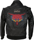 Music Memorabilia:Costumes, Judas Priest Defender Of The Faith Tour Band/Crew Jacket (Circa 1984)....