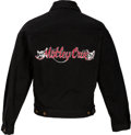 Music Memorabilia:Costumes, Motley Crue Dr. Feel Good World Tour Jacket (Circa 1989-1991)....