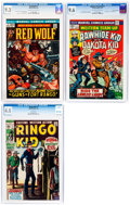 Bronze Age (1970-1979):Western, Marvel Bronze Age Westerns CGC-Graded Group of 3 (Marvel, 1970-73).... (Total: 3 Comic Books)
