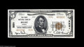 National Bank Notes:Kansas, Beloit, KS - $5 1929 Ty. 2 The First NB Ch. # 3231 A fourth piece from the same run, with exceptional originality and f...