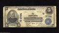National Bank Notes:Kansas, Howard, KS - $5 1902 Plain Back Fr. 600 The Howard NB Ch. # (W)3794 A decent circulated large example from the Midwest ...