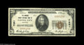 National Bank Notes:Kentucky, Cannel City, KY - $20 1929 Ty. 1 The Morgan County NB Ch. # 7891This one bank town is an elusive location, indeed. The...