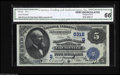 National Bank Notes:Kentucky, Louisville, KY - $5 1882 Date Back Fr. 537 The NB of Kentucky Ch. #(S)5312 A lovely Date Back from the run that has su...