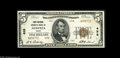 National Bank Notes:Maine, Augusta, ME - $5 1929 Ty. 2 The First National Granite Bank Ch. #498 This 1929 note from the Pine Tree State capital c...