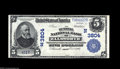National Bank Notes:Maine, Ellsworth, ME - $5 1902 Plain Back Fr. 598 The Burrill NB Ch. # (N)3804 A very rare bank with this title, the first use...