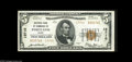National Bank Notes:Maine, Portland, ME - $5 1929 Ty. 2 NB of Commerce Ch. # 13710 This latechartered institution issued only $5, $10 and $20 typ...