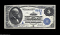 National Bank Notes:Maryland, Oakland, MD - $5 1882 Value Back Fr. 574 The First NB Ch. # (E)5623The second of two $5 Value Backs which recently tur...