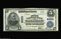 National Bank Notes:Missouri, Bethany, MO - $5 1902 Plain Back Fr. 599 The First NB Ch. # 8009 Abeautiful note with bright white paper, vivid colors...