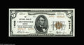 National Bank Notes:Missouri, Caruthersville, MO - $5 1929 Ty. 2 NB of Caruthersville Ch. # 14092A gorgeous example from this 14000 charter bank, la...