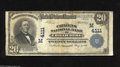 National Bank Notes:Missouri, Chillicothe, MO - $20 1902 Plain Back Fr. 652 The Citizens NB Ch. #(M)4111 A more than acceptable large example from t...