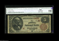 National Bank Notes:Missouri, Joplin, MO - $5 1882 Brown Back Fr. 471 The Joplin NB Ch. # (M)4425A tougher Brown Back from a very infrequently offer...