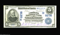 National Bank Notes:Missouri, Kirksville, MO - $5 1902 Date Back Fr. 591 The Citizens NB Ch. #(M)8276 A nice example which is one of just a literal ...