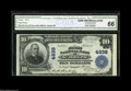 National Bank Notes:Missouri, Saint Joseph, MO - $10 1902 Plain Back Fr. 631 The First NB Ch. #4939 A bright and attractive example with engraved si...