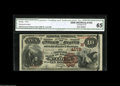 National Bank Notes:Missouri, Saint Louis, MO - $10 1882 Brown Back Fr. 484 The NB of CommerceCh. # (M)4178 A well centered and vividly colored note...