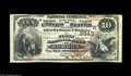 National Bank Notes:Nebraska, Auburn, NE - $10 1882 Brown Back Fr. 481 The First NB Ch. # (W)3343 This is an interesting and very rare note that shou...